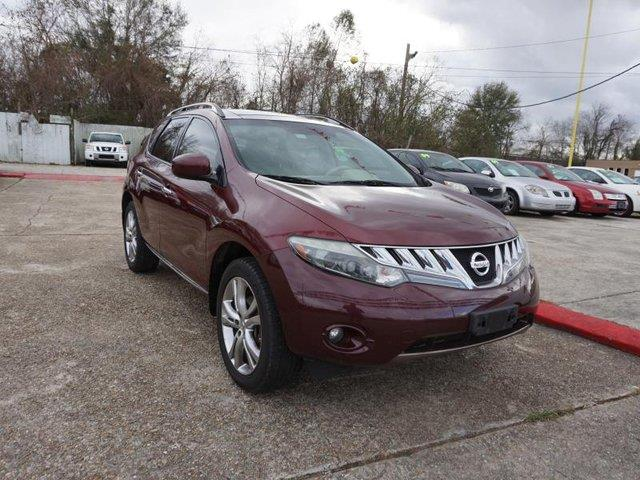 2010 NISSAN MURANO LE 2WD merlot metallic rear bench seatheated rear seatsstability controlp