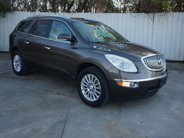 2009 BUICK ENCLAVE CXL 4DR SUV cocoa metallic tires - rear all-seasonintermittent wiperssatelli