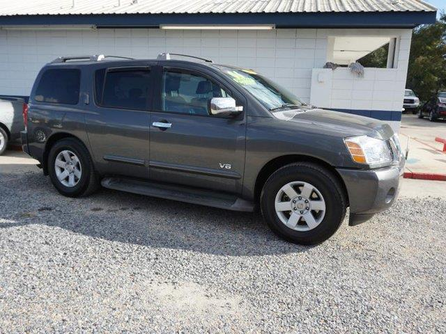 2006 NISSAN ARMADA LE 2WD granite metallic power windowstires - rear all-seasonpass-through rea