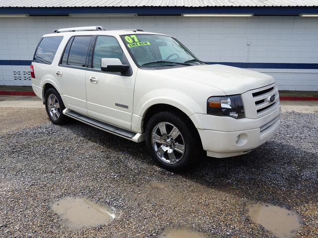 2007 FORD EXPEDITION LIMITED 4X2 4DR SUV oxford white front head air bagclimate controlmulti-zo