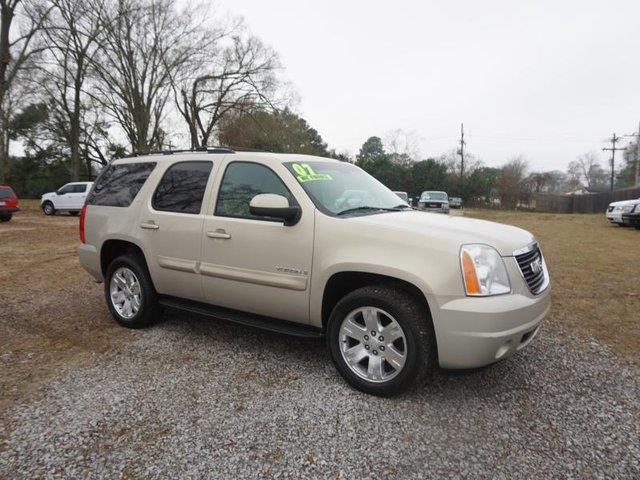 2008 GMC YUKON SLT W4SA 2WD tan stability controltire pressure monitorfront tow hooksleather