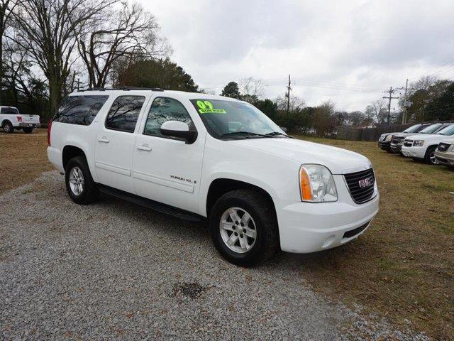 2009 GMC YUKON XL 1500 SLT W4SA 2WD white power windowstraction controlconventional spare tire