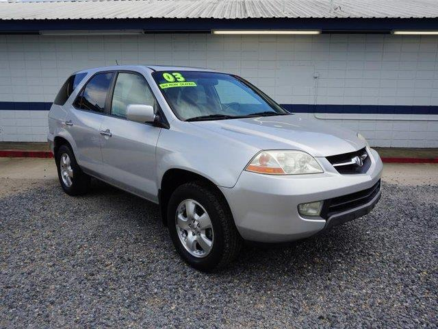 2003 ACURA MDX BASE AWD 4DR SUV silver rear bench seatstability controlleather steering wheels
