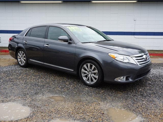 2011 TOYOTA AVALON LIMITED 4DR SEDAN magnetic gray metallic driver air bagfront side air bagfro