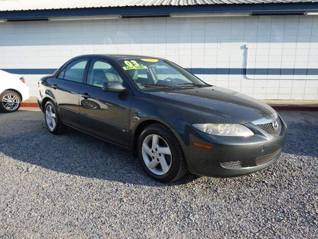 2003 MAZDA MAZDA6 S 4DR SEDAN V6 glacier silver metallic tires - front all-seasonrear seat heat