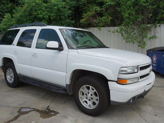 2003 CHEVROLET TAHOE 1500 4WD Z71 summit white heated driver seatpassenger air bag onoff switch