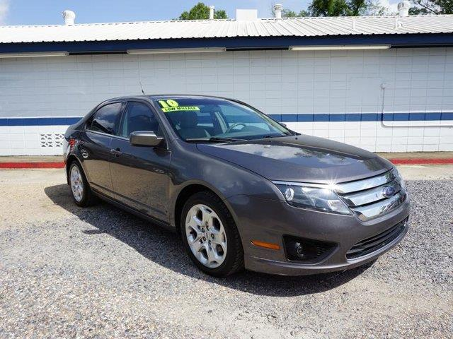 2010 FORD FUSION SE 4DR SEDAN sterling gray metallic front side air bagclimate controlac4-whe