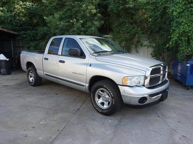 2004 DODGE RAM PICKUP 1500 1500 1405 WB SLT bright silver metallic auxiliary pwr outletvariable