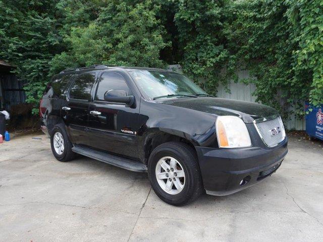 2007 GMC YUKON 1500 SLT 2WD onyx black auto-off headlightssteering wheel audio controlsprivacy