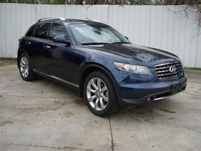 2007 INFINITI FX35 BASE 4DR SUV sapphire pearl front reading lampsrear parking aidpassenger ill