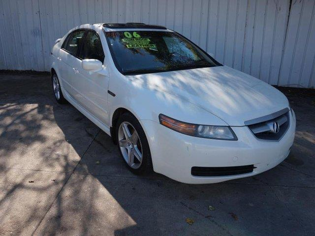 2006 ACURA TL AT white driver air bagfront head air bagclimate controlaccassettecd player4