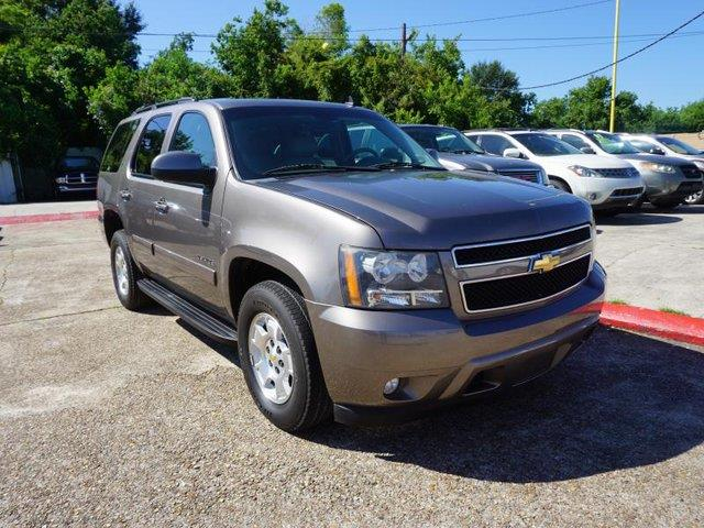 2011 CHEVROLET TAHOE LT 4X2 4DR SUV brown power driver seat3rd row seatpower driver mirrorpowe