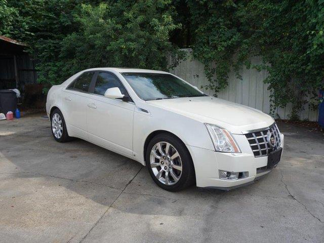 2008 CADILLAC CTS 36L DI AWD 4DR SEDAN white diamond tricoat rear bench seatnavigation from tel