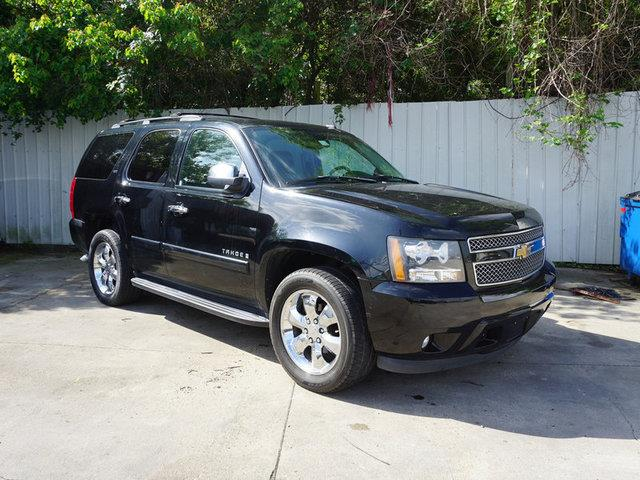 2007 CHEVROLET TAHOE LTZ 2WD black chrome wheelsrear head air bagacamfm stereoauto-on headl
