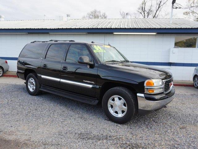 2004 GMC YUKON XL 1500 SLT 4DR SUV onyx black aluminum wheelstires - rear all-seasonadjustable