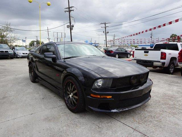2006 FORD MUSTANG GT PREMIUM 2DR COUPE black fog lampsmp3 playertemporary spare tiretires - fr