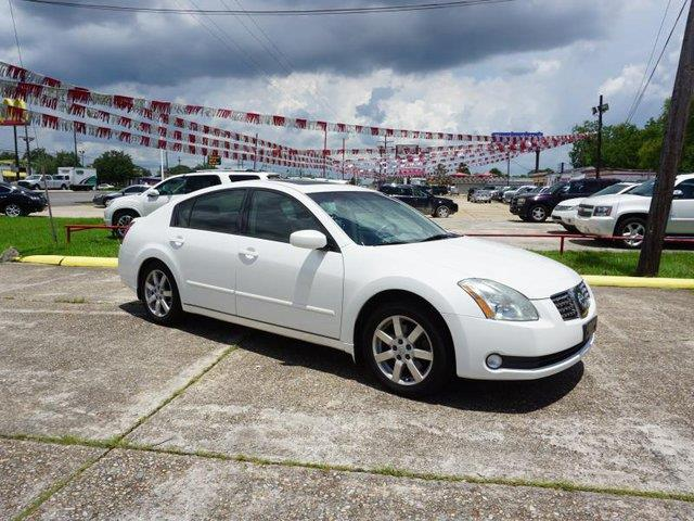2006 NISSAN MAXIMA V6 winter frost pearl trip computerremote trunk releaseleather steering whee