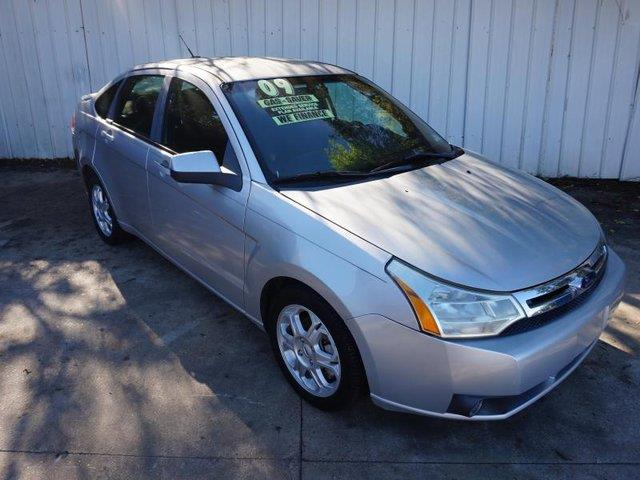 2009 FORD FOCUS SES 4DR SEDAN silver driver air bagfront head air bagfront discrear drum brake