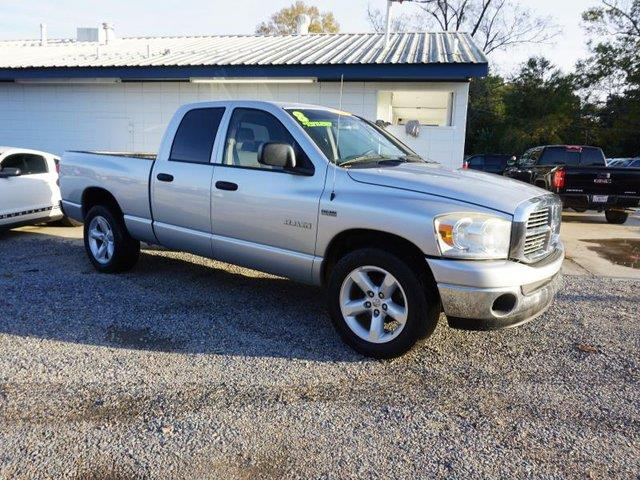 2008 DODGE RAM PICKUP 1500 1500 SLT 2WD 140WB bright silver metallic power driver mirrorrear whe