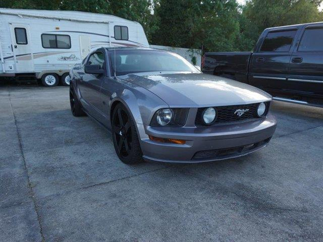 2006 FORD MUSTANG GT DELUXE 2DR COUPE tungsten metallic passenger air bagcd player4-wheel disc