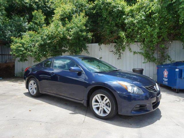 2011 NISSAN ALTIMA 25 S 2DR COUPE CVT navy blue metallic passenger air bag onoff switchfront h