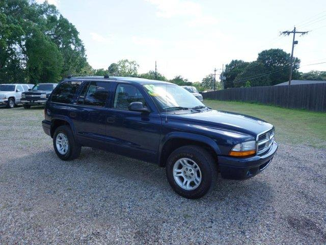 2002 DODGE DURANGO SLT 2WD 4DR SUV patriot blue pearl rear acamfm stereocd player4-wheel abs