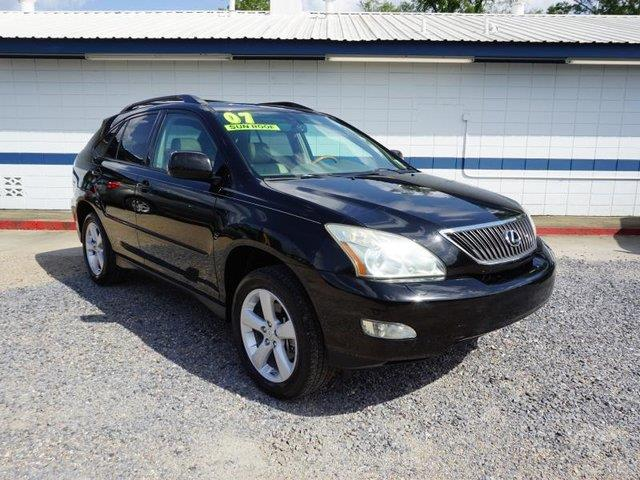 2007 LEXUS RX 350 BASE 4DR SUV black onyx heated passenger seatdriver air bagpassenger air bag