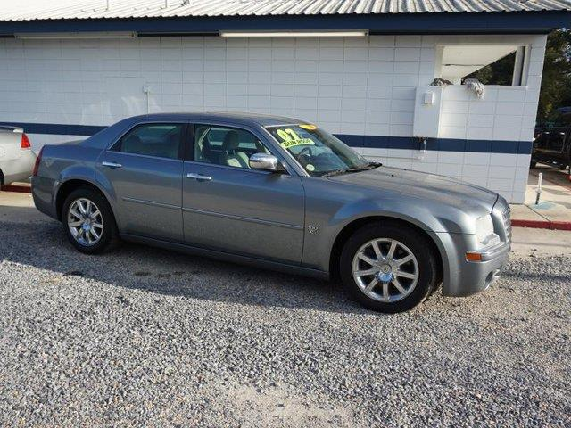 2007 CHRYSLER 300 C 4DR SEDAN steel blue metallic passenger air bag sensorpower folding mirrors