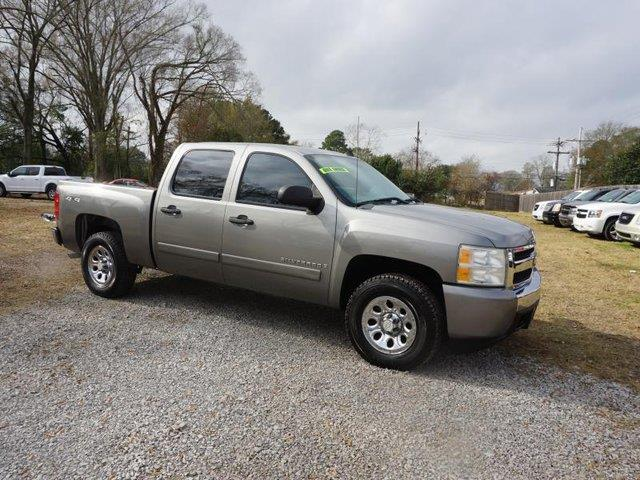 2007 CHEVROLET SILVERADO 1500 1500 LS 4WD 143WB silver transmission overdrive switchpassenger va