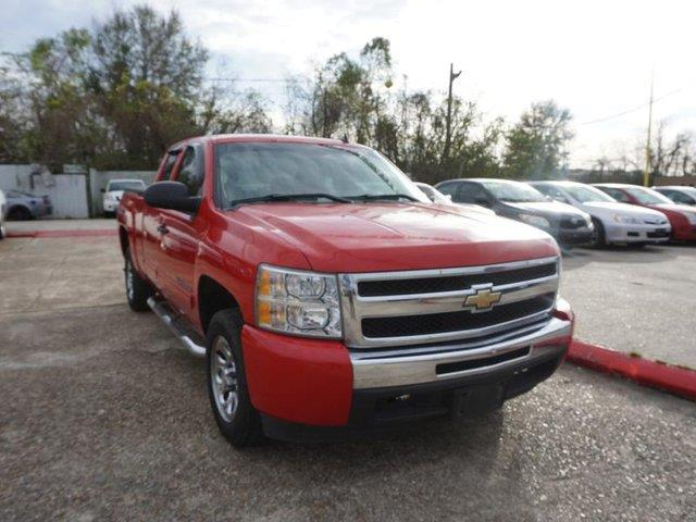 2011 CHEVROLET SILVERADO 1500 LS 4X2 4DR EXTENDED CAB 65 FT victory red passenger air bagfront