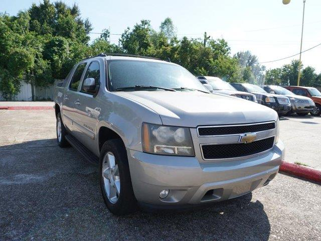 2007 CHEVROLET AVALANCHE LT W1LT 2WD gray stone metallic climate controlpassenger air bag onof