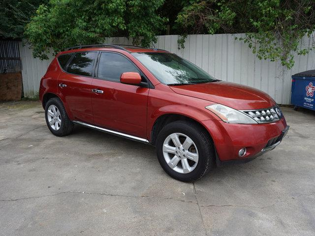 2007 NISSAN MURANO SL 2WD red power passenger seatleather seatsluggage rackfront head air bag