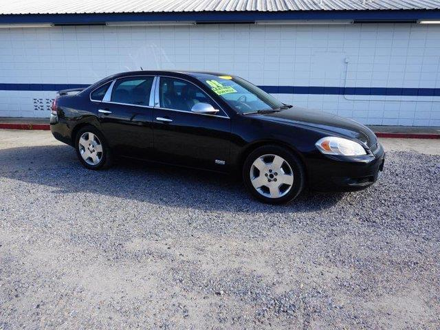 2008 CHEVROLET IMPALA SS 4DR SEDAN black power driver seatpower driver mirrorremote engine star