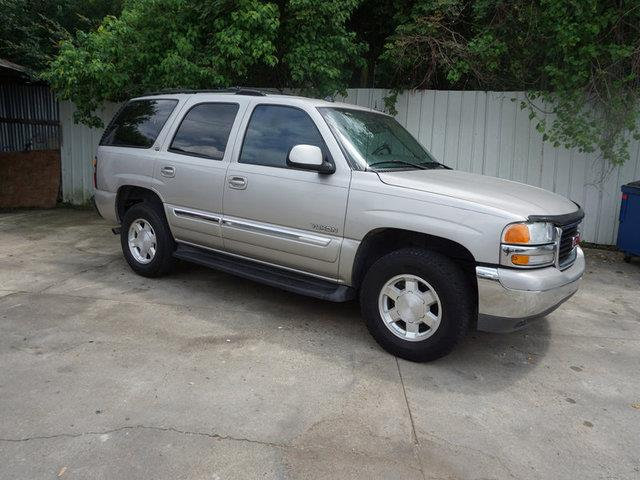 2004 GMC YUKON 1500 SLT silver passenger air bag onoff switch4-wheel abscruise controlbucket