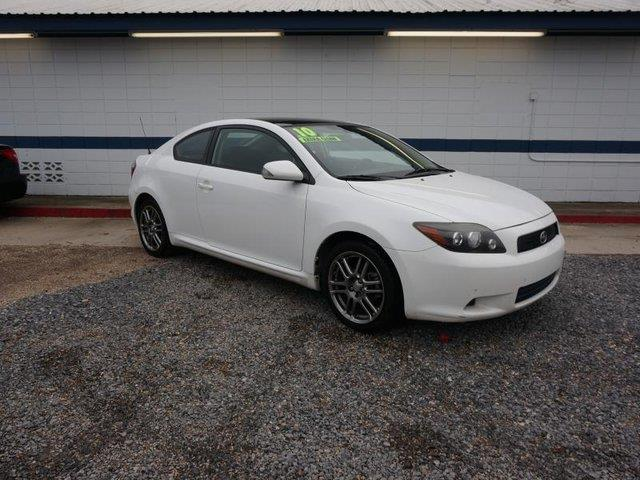 2010 SCION TC super white passenger air bag onoff switchacamfm stereo4-wheel abscruise con