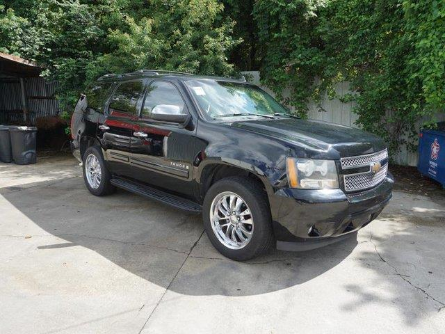 2007 CHEVROLET TAHOE LTZ 2WD black navigation systempower tiltsliding sunroofauxiliary audio i