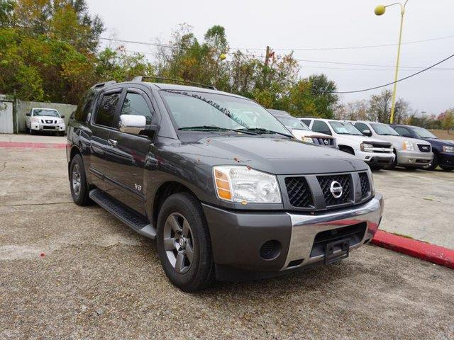 2005 NISSAN ARMADA SE 2WD unspecified passenger air bag sensortire pressure monitorvehicle anti
