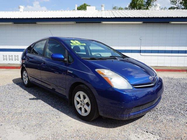 2008 TOYOTA PRIUS BASE 4DR HATCHBACK spectra blue aluminum wheelsbucket seatscloth seatsdriver