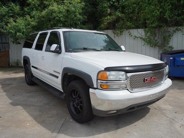 2004 GMC YUKON XL 1500 SLT 4DR SUV summit white cd changerpower tiltsliding sunroofluggage rac