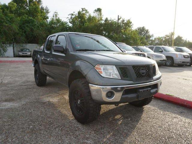 2009 NISSAN FRONTIER SE 4WD storm gray bed linerfront reading lampsintermittent wiperstires -