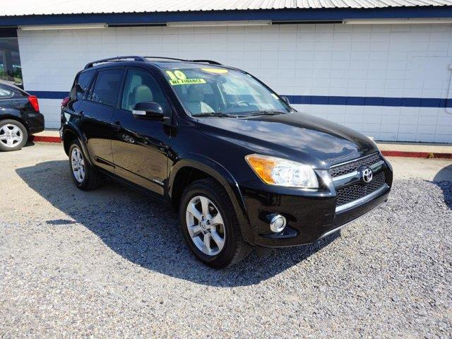 2010 TOYOTA RAV4 LIMITED 4DR SUV black rear parking aiddriver air bagpassenger air bagcd chang
