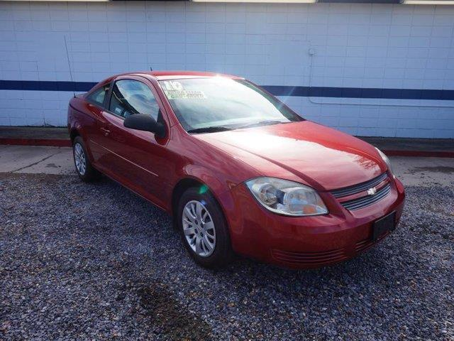 2010 CHEVROLET COBALT LS 2DR COUPE red passenger air bagrear head air bagcd playerrear defrost