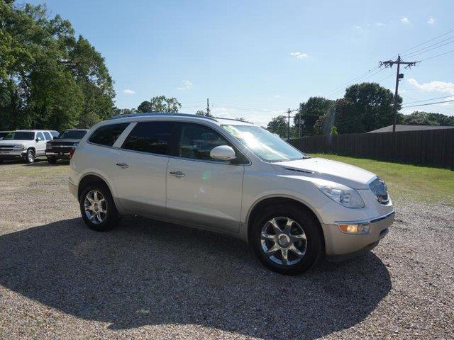2009 BUICK ENCLAVE CXL 4DR SUV white diamond leather seatsdriver air bagpassenger air bag onof
