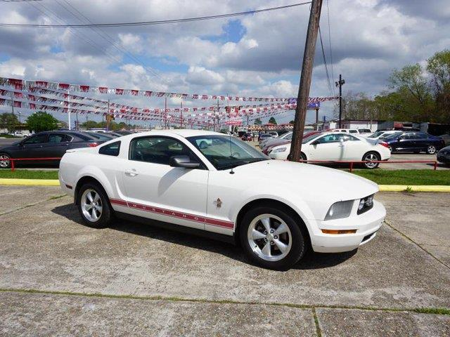 2008 FORD MUSTANG PREMIUM performance white leather seatsrear bench seattire pressure monitorv
