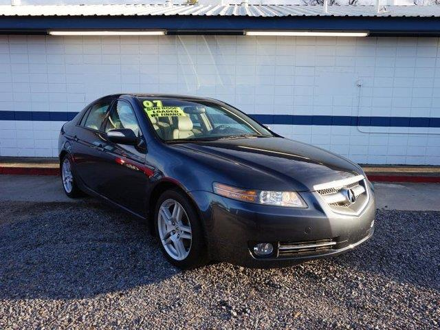 2007 ACURA TL AT gray passenger air bagfront head air bagmulti-zone acalarmcassette4-wheel