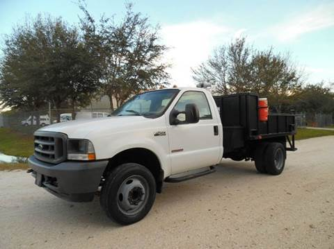 2004 Ford F-450 Super Duty for sale in Lake Placid, FL