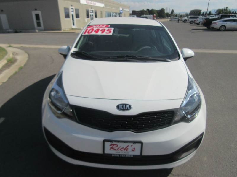 Kia Rio Lx Sedan In N Logan Ut Cheap Cars