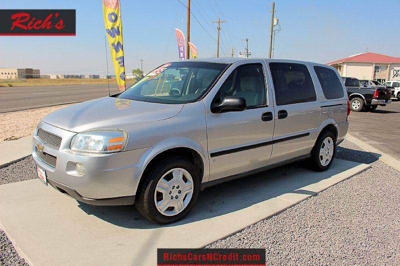 2008 chevrolet uplander ls 4dr extended mini van in n logan ut contact publicscrutiny Choice Image