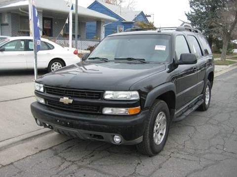 2004 Chevrolet Tahoe for sale in Salt Lake City, UT