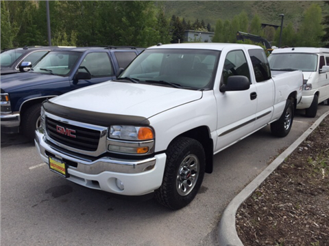2005 GMC Sierra 1500 for sale in Jackson, WY